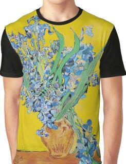 Van Gogh Irises  Graphic T-Shirt
