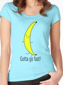 Gotta go fast! Women's Fitted Scoop T-Shirt