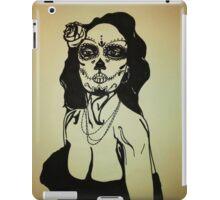 Sugar Skull Girl 1 iPad Case/Skin