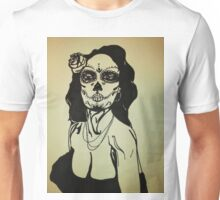 Sugar Skull Girl 1 Unisex T-Shirt