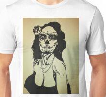 Sugar Skull Girl 1 Unisex T-Shirt