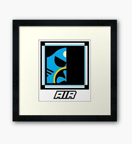 Robot Master - Air Framed Print