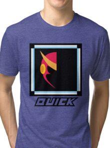 Robot Master - Quick Tri-blend T-Shirt