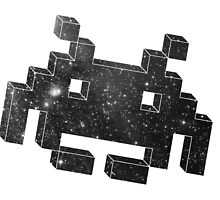 Invader in Space by davidroehl