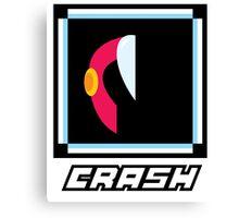 Robot Master - Crash Canvas Print