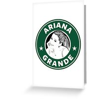 Ariana Grande - Starbucks Greeting Card