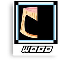 Robot Master - Wood Canvas Print