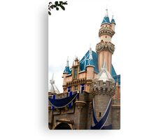 Castle Contrast Metal Print