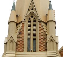 Wesley Church Perth City Western Australia. by sandysartstudio