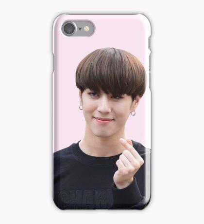 GOT7 Yugyeom - Hand Heart  iPhone Case/Skin