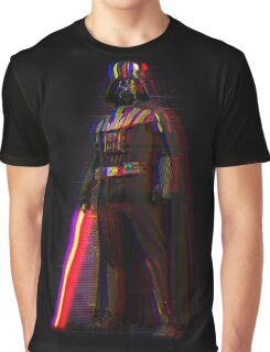Glitch Vader Graphic T-Shirt