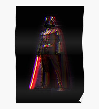 Glitch Vader Poster
