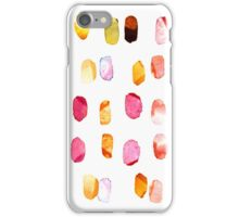 strokes of colors iPhone Case/Skin