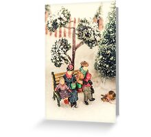 A Rest In The Park Greeting Card