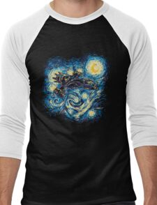 Starry Flight Men's Baseball ¾ T-Shirt