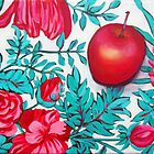 Rosy Apple by marlene veronique holdsworth