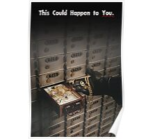 THIS COULD HAPPEN TO YOU: A Thief  Poster