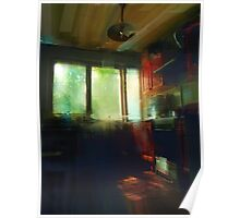 late afternoon kitchen Poster