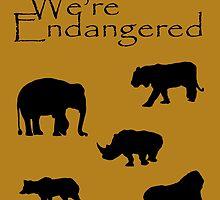 We're Endangered by Tarnya  Burke