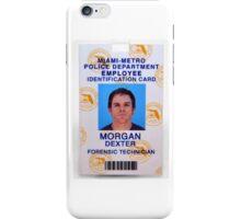 Morgan, Dexter iPhone Case/Skin