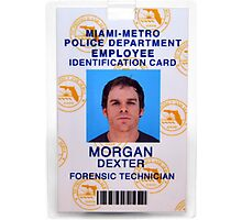 Morgan, Dexter Photographic Print