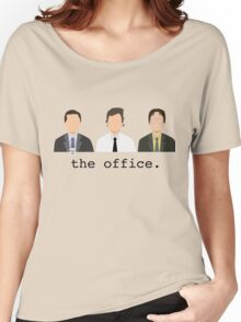 Jim, Dwight, Michael- The Office Women's Relaxed Fit T-Shirt