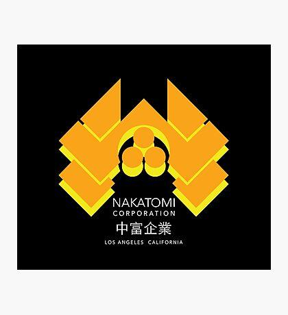 Nakatomi Plaza - Japanese Expand Reverse Variant Photographic Print