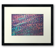 layers of color - seven Framed Print