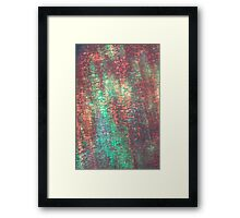 layers of color - five Framed Print