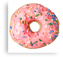 a real donut Metal Print