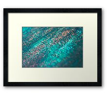 layers of color - six Framed Print