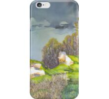 Spring thunder-storm iPhone Case/Skin