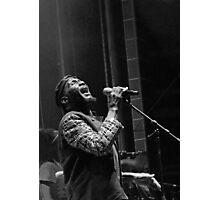 The wonderful Jimmy Cliff 5 (n&b)(h) by expressive photos ! Olao-Olavia by Okaio Créations  Photographic Print