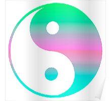 Digi Yin Yang  Poster