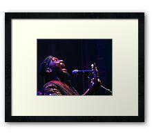The wonderful Jimmy Cliff 6 (c)(t) by expressive photos ! Olao-Olavia by Okaio Créations  Framed Print