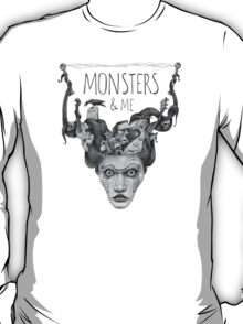 Monsters & me (bright) T-Shirt