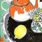 studio tea 3 by HelenAmyes