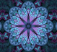 Fractal Mandala by Manafold
