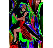 Psychedelic Tango Photographic Print