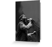 The wonderful Jimmy Cliff 7 (n&b)(h) by expressive photos ! Olao-Olavia by Okaio Créations  Greeting Card