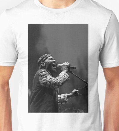 The wonderful Jimmy Cliff 7 (n&b)(h) by expressive photos ! Olao-Olavia by Okaio Créations  Unisex T-Shirt