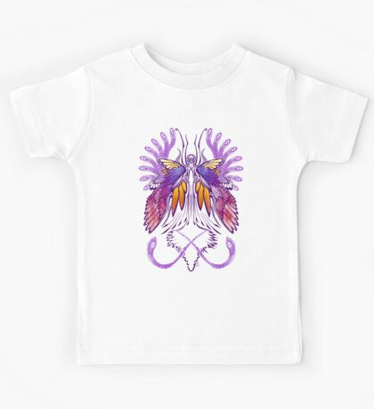 Mab the Queen of Fey (purple) Kids Tee