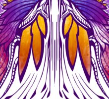 Mab the Queen of Fey (purple) Sticker