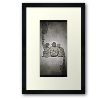 The Middle Ground Framed Print