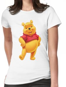 P00h! Bear Womens Fitted T-Shirt