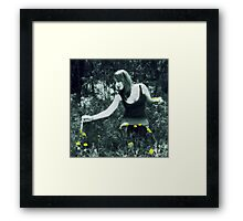 Painted Flowers #480 Framed Print