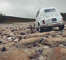 FIAT all over Town : Gravel road by inLitestudio
