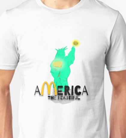 America the Beautiful Unisex T-Shirt