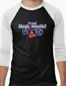 I Cast Magic Missile II Men's Baseball ¾ T-Shirt