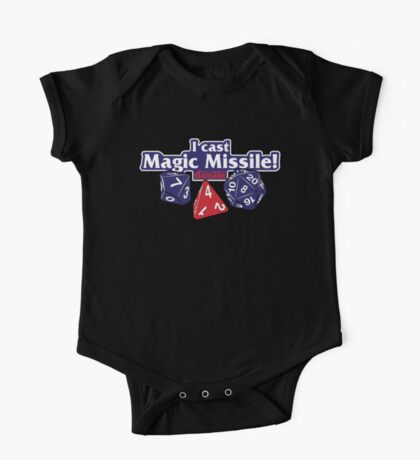 I Cast Magic Missile II One Piece - Short Sleeve